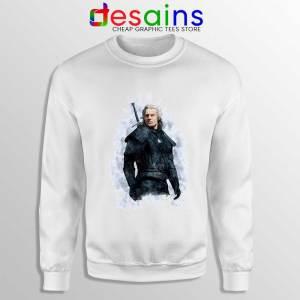 Witcher Geralt of Rivia Sweatshirt The Witcher Netflix Sweaters S-3XL