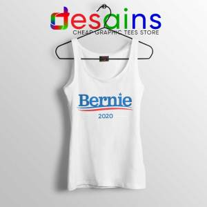 Bernie Sanders 2020 Campaign Tank Top Democratic Tops Size S-3XL