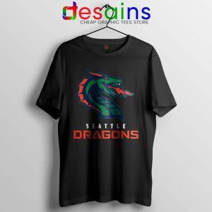 Cheap Dragons Seattle Tshirt American Football Team Tee Shirts S-3XL