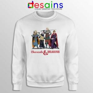 Cheesecake and Dragons Sweatshirt DnD The Golden Girls Sweaters