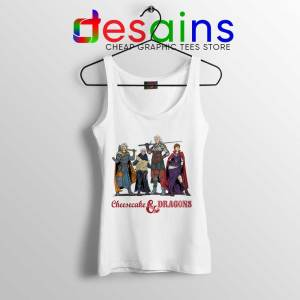 Cheesecake and Dragons Tank Top DnD The Golden Girls Tops S-3XL