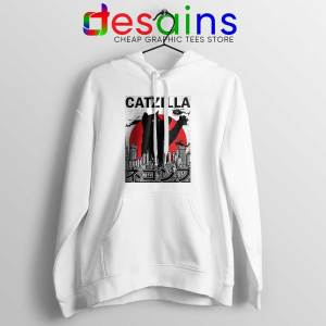 Funny Catzilla Godzilla Hoodie King of the Monsters Cats Jacket S-2XL