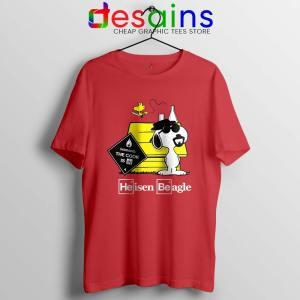 Heisenberg Snoopy Beagle Tshirt Breaking Bad Snoopy Tee Shirts S-3XL