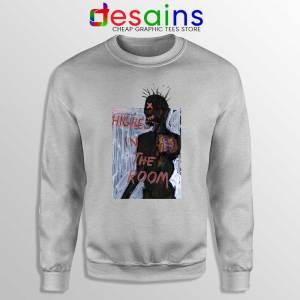 Highest in the Room Sport Grey Sweatshirt Travis Scott Poster Sweaters