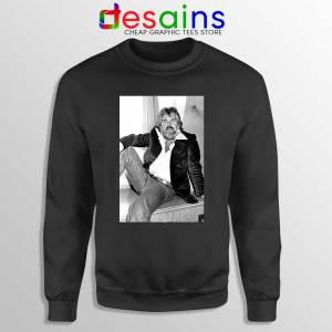 Kenny Rogers the Gambler Black Sweatshirt American Singer Sweaters