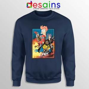 Philip J Fry Star Wars Navy Sweatshirt A Future Wars Story Sweaters