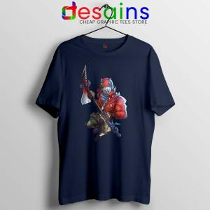Rust Lord Fortnite Navy Tshirt Epic Outfit Battle Royale Tees