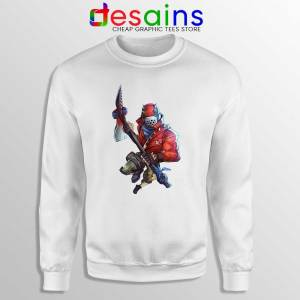 Rust Lord Fortnite Sweatshirt Epic Outfit Battle Royale Sweaters S-3XL
