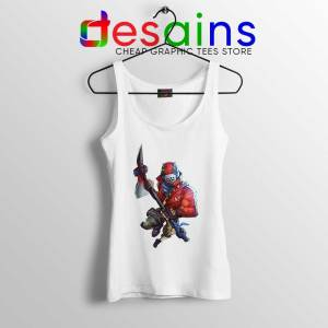 Rust Lord Fortnite Tank Top Epic Outfit Battle Royale Tops S-3XL
