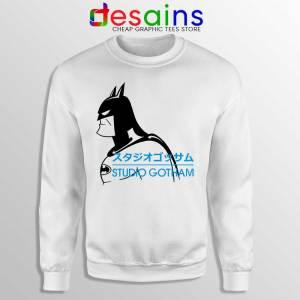 Studio Gotham Japanese Sweatshirt Batman DC Merch Sweaters S-3XL