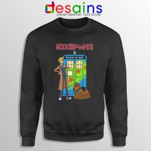 Tardis Scooby Who Sweatshirt Scooby Doo Where Are You Sweaters