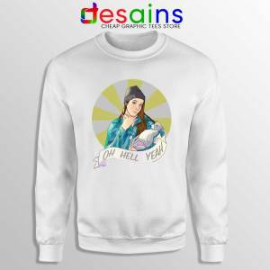 Jenna Marbles Oh Hell Yeah Sweatshirt Madonna and Child Sweaters