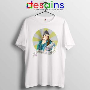 Jenna Marbles Oh Hell Yeah Tshirt Madonna and Child Tee Shirts S-3XL
