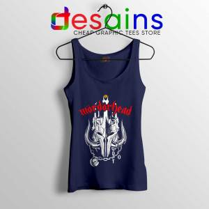 MordorHead Middle Earth Navy Tank Top Lord of the Rings Tops