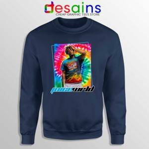 RIP Juice Wrld 999 Navy Sweatshirt American Rapper Sweaters