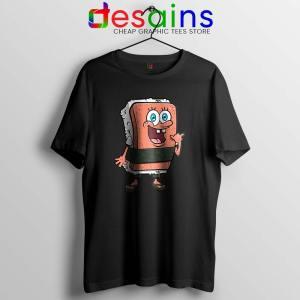 SpamBob Square Tshirt Funny Spam Musubi Tee Shirts S-3XL