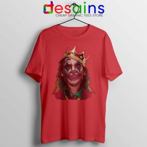 The Notorious BIG Joker Red Tshirt Arthur Fleck Joker Tees