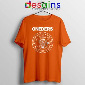 The Oneders Band Orange Tshirt That Thing You Do Tee Shirts