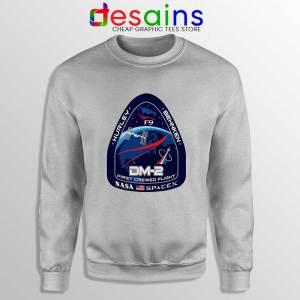 Crew Dragon Demo Fight Sweatshirt SpaceX Dragon 2 Sweaters S-3XL