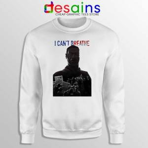 Justice for George Sweatshirt I Can't Breathe Sweaters S-3XL