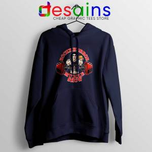 Rocky Horror Picture Show Navy Hoodie Muscle Show Jacket Hoodies