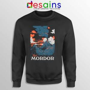 Visit Mordor Middle Earth Sweatshirt Arch Villain Sauron Sweaters S-3XL