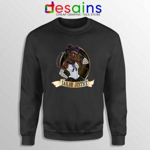 Sailor Justice BLM Sweatshirt Black Lives Matter Sailor Moon Sweaters