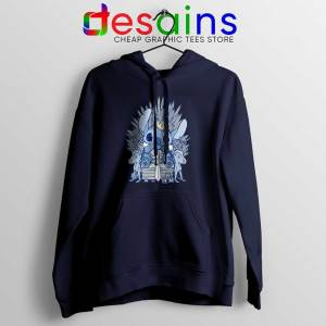 Stitch In Side Thrones Hoodie Game of Thrones Funny Jacket S-2XL