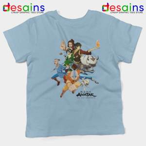 The Gaang Avatar Kids Tshirt The Last Airbender Youth Tees