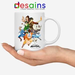 The Gaang Avatar Mug The Last Airbender Coffee Mugs 11oz