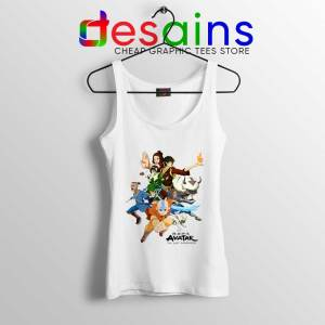 The Gaang Avatar Tank Top The Last Airbender Tops Size S-3XL