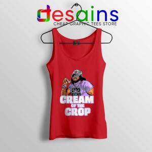 Cream Of The Crop Red Tank Top Macho Man Cheap Tops WWF