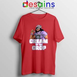 Cream Of The Crop Red Tshirt Macho Man Cheap Tee Shirts S-3XL