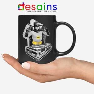 DJ The Dark Knight Mug Funny Batman DJ Ceramic Coffee Mugs