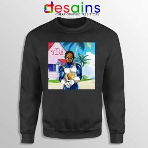 Kendrick Lamar Zenkai Black Sweatshirt Hip Hop's Dragon Ball Sweaters