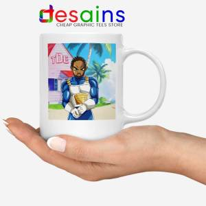 Kendrick Lamar Zenkai Mug Hip Hop's Dragon Ball Coffee Mugs