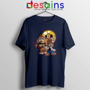 Mario Han Solo Navy Tshirt Star Wars Super Mario Tee Game