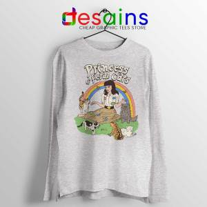 Princess Of Feral Cats Sport Grey Long Sleeve Tshirt Disney Princess