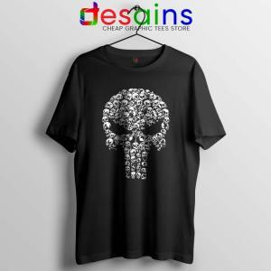 Punisher Skull Symbol Tshirt Marvel Comics Cheap Tee Shirts