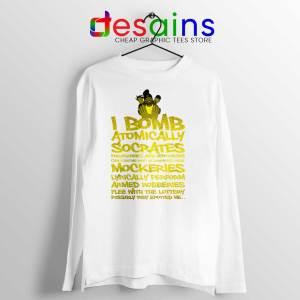 Wu Tang Saga White Long Sleeve Tee An American Saga T-shirts