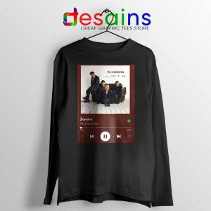 Zombie The Cranberries Long Sleeve Tee Rock Band Merch T-shirts