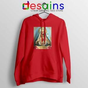 Saint Dolly Parton Red Hoodie American Singer Jacket