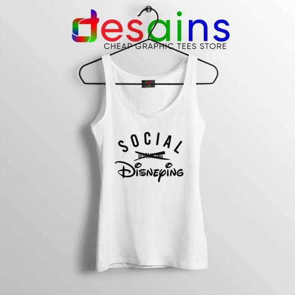 Social Disneying Tank Top Covid-19 Social Distancing Tops