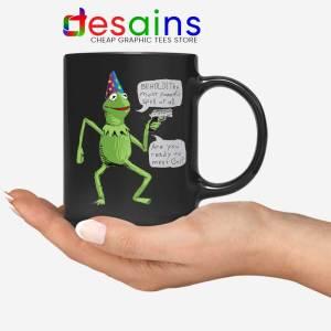 Kermit The Frog Black Mug Yer A Wizard Coffee Mugs 11oz