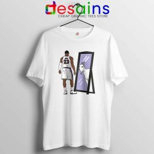 LeBron James Mirror GOAT Tshirt Los Angeles Lakers Tee Shirts