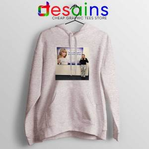 Phoebe and Taylor Swift SPort Grey Hoodie Education Center Jacket Friends
