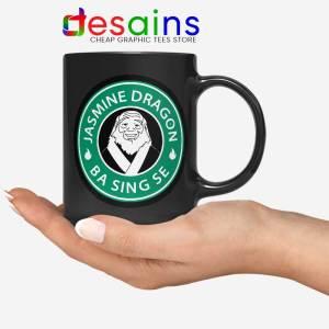 The Jasmine Dragon Black Mug Uncle Iroh Avatar Coffee Mugs