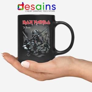 Iron Mando Maiden Mug The Mandalorian Band Coffee Mugs