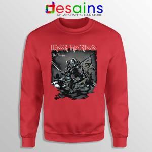 Iron Mando Maiden Red Sweatshirt The Mandalorian Band