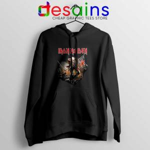 Up The Irons Hoodie The First Ten Years Iron Maiden Jacket